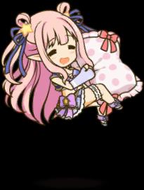 キャラ/★★★/ハツネ(サマー)/SD睡眠
